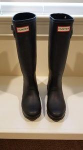 Hunter Rain Boots Matte Black Sz.6